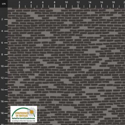 Brick Wall - DK GREY
