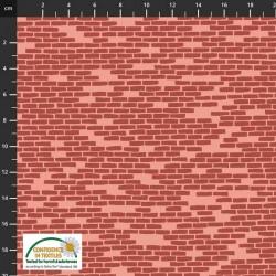 Brick Wall - BROWN