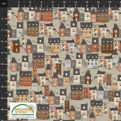 Stacked Houses - BEIGE