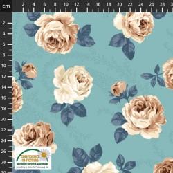 Feature Large Roses - AQUA