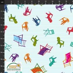 Deck Chairs - AQUA