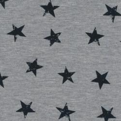Avalana Jersey Knit 162cm WIDE - GREY STARS