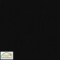 AVALANA RIB KNIT - BLACK 160cm wide