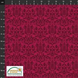 Avalana Cotton Poplin 150cm Wide Shapes - FUCHSIA