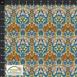 Avalana Cotton Poplin 150cm Wide Shapes - MULTI