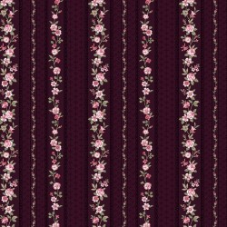 WALLPAPER STRIPE - MAGENTA