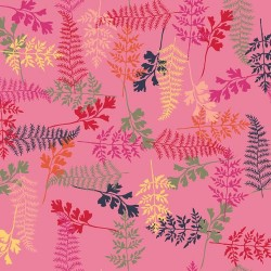 Tossed Ferns - PINK