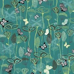 Butterfly Garden - TEAL