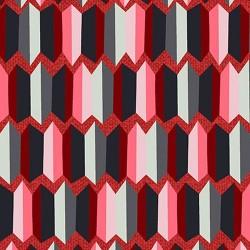 Retro Stripe - GREY/PINK