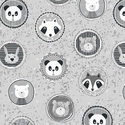 Panda Cameos - GREY