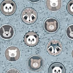 Panda Cameos - BLUE