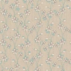 Texture Blossoms - NATURAL/LT BLUE