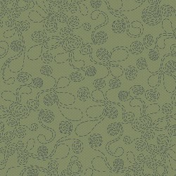 Flower Stitching - OLIVE