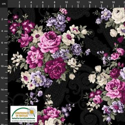 Large Flower Bouquets - BLACK