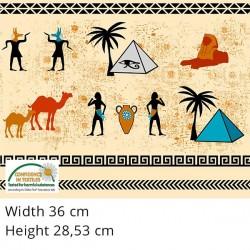 Panel - Eye of Egypt (90cm) - NATURAL