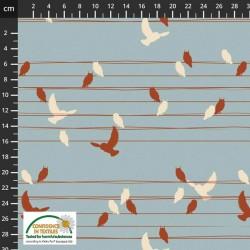 Birds on Wires - BLUE