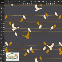 Birds on Wires - DK GREY