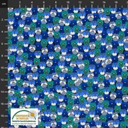 Flower Field - BLUE