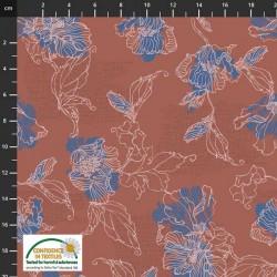 Flower Outlines - DK PINK