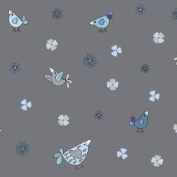 BIRDS - DK GREY