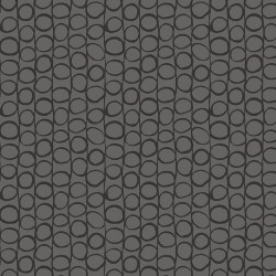 Large Dotted Stripe - GREY