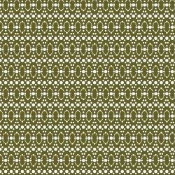Dotted Ovals - OLIVE