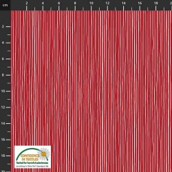 Small Stripes - RED