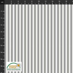 Large Stripes - GREY
