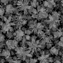 Garden of Leaves - BLACK/GREY