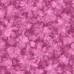 Garden of Leaves - MAGENTA