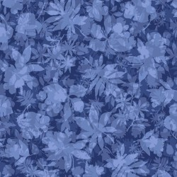 Garden of Leaves - BLUE