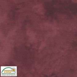QUILTERS SHADOW -  CLARET