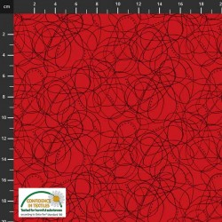 Doodle Lines - RED