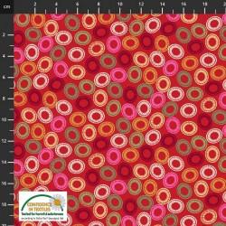 Circular Shape - RED/MULTI
