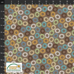 Circular Shapes - BROWN