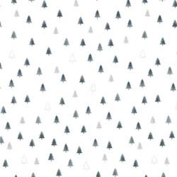TINY TREES - WHITE/SILVER