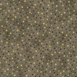 DOTS - TAUPE/GOLD