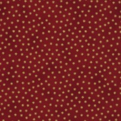 STARS & DOTS - RED/GOLD