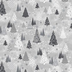 Christmas Trees - GREY/SILVER