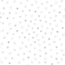 Hearts - WHITE/SILVER