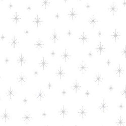 Christmas Star - WHITE/SILVER