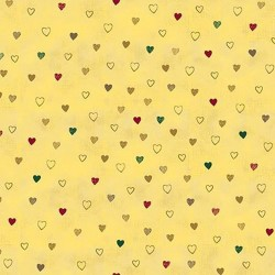 Hearts - CREAM/GOLD