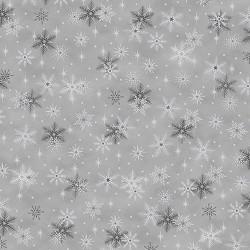 Snowflakes - GREY SILVER