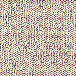 Ombre Rainbow Hearts - WHITE