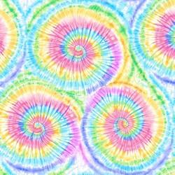 Pastel Tie-Dye Print - MULTI