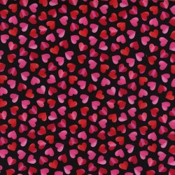Large Ombre Hearts - RED