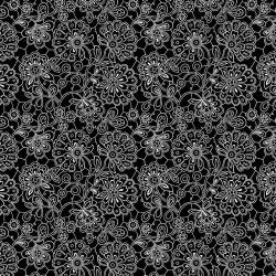 Paisley Doodles - BLACK
