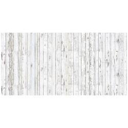 Light Wood Stripe - WHITE