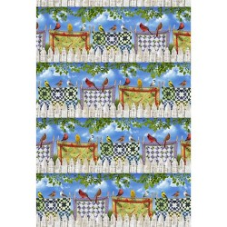Birds on Quilts - MULTI