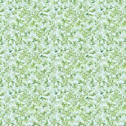 Watercolour Mini Leaves - AQUA